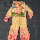 Noah's Ark Pink Lamb Costume Infants 6-12 months Girls 2 piece New
