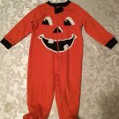 Girls Boys Size 3-6 mo. pumpkin jumpsuit baby outfit