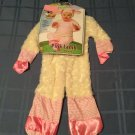 Noahs Ark Pink Lamb Costume Infants 6-12 months baby Girls 2 piece New Halloween
