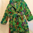 Size 3T Nickelodeon Ninja Turtle robe plush long sleeve New