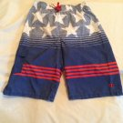 4th of July Champion board shorts Size large patriotic US flag stars stripes