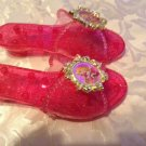Disney shoes Size 7 Sleeping Beauty Aurora slippers pink Girls