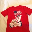 4th of July City Streets shirt Size 14 16 large t shirt patriotic flag USA red