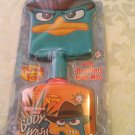 Disney Phineas and Ferb wash mit body wash 6.7 fluid ounces bath set kit
