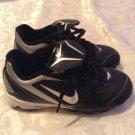 Nike shoes Size 11C Keystone black soccer softball baseball sports cleats boy