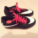 Nike shoes Size 1 soccer baseball softball cleats black girls sports