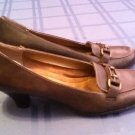 Mothers Day Size 9 1/2 Aerology shoes brown leather pump shoes Ladies Womens