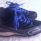 Rawlings cleats Youth Size 13 black gray baseball softball athletic shoes Boys