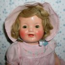 "RARE --1930 Effanbee LOVUMS 18"" Composition Doll -- Mint"
