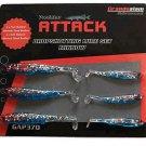Predator Attack Dropshotting Lure Set - Minnow