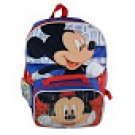 Disney Mickey Mouse 16 Inch Backpack With Lunch Bag Set
