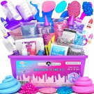 Original Stationery Unicorn Slime Kit Supplies Stuff for Girls Making Slime [Eve
