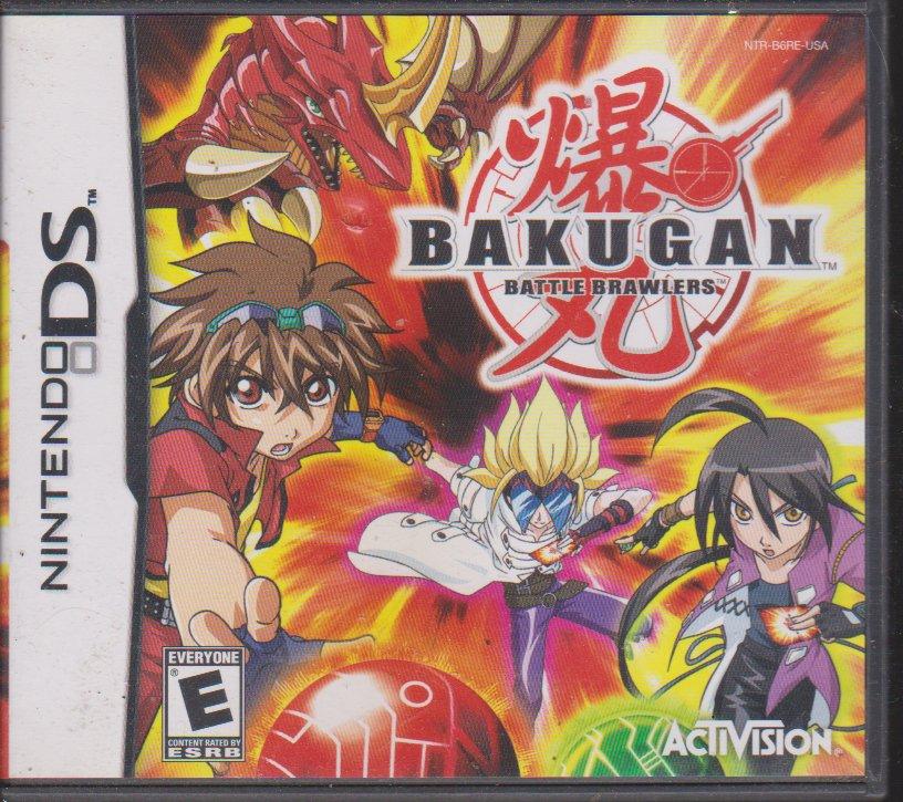 Bakugan Battle Brawlers for Nindendo DS
