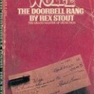Nero Wolfe: The Doorbell Rang  by Rex Stout