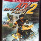 ATV 2 Offroad Fury (Playstaion 2) Greatest Hits