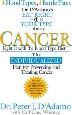 Cancer: Fight It with the Blood Type Diet by Dr. Peter J D'Adamo