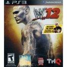 WWE 12, Playstation, PS3