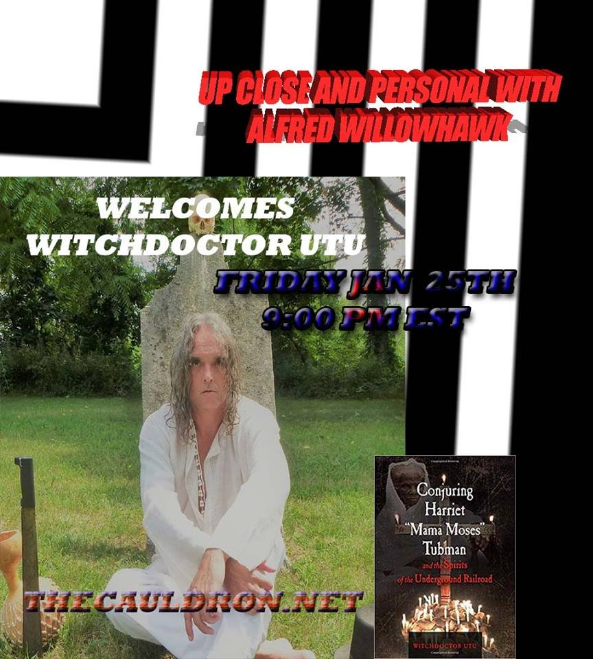 Up Close & Personal with Witchdoctor Utu