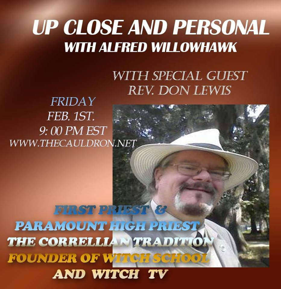 Up Close & Personal with Rev. Don Lewis