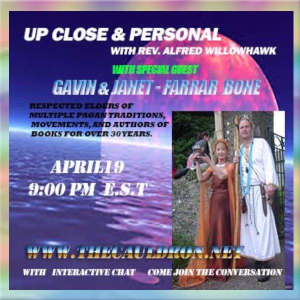 Up Close & Personal with Janet Farrar & Gavin Bone
