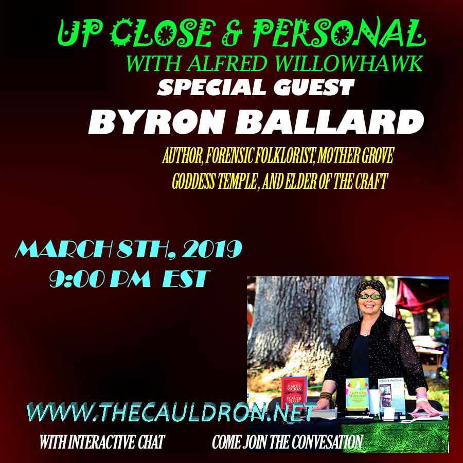 Up Close & Personal with Byron Ballard