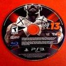 WWE 13, PS3