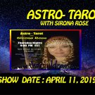 Astro-Tarot with Sirona Rose, Week of April 11, 2019