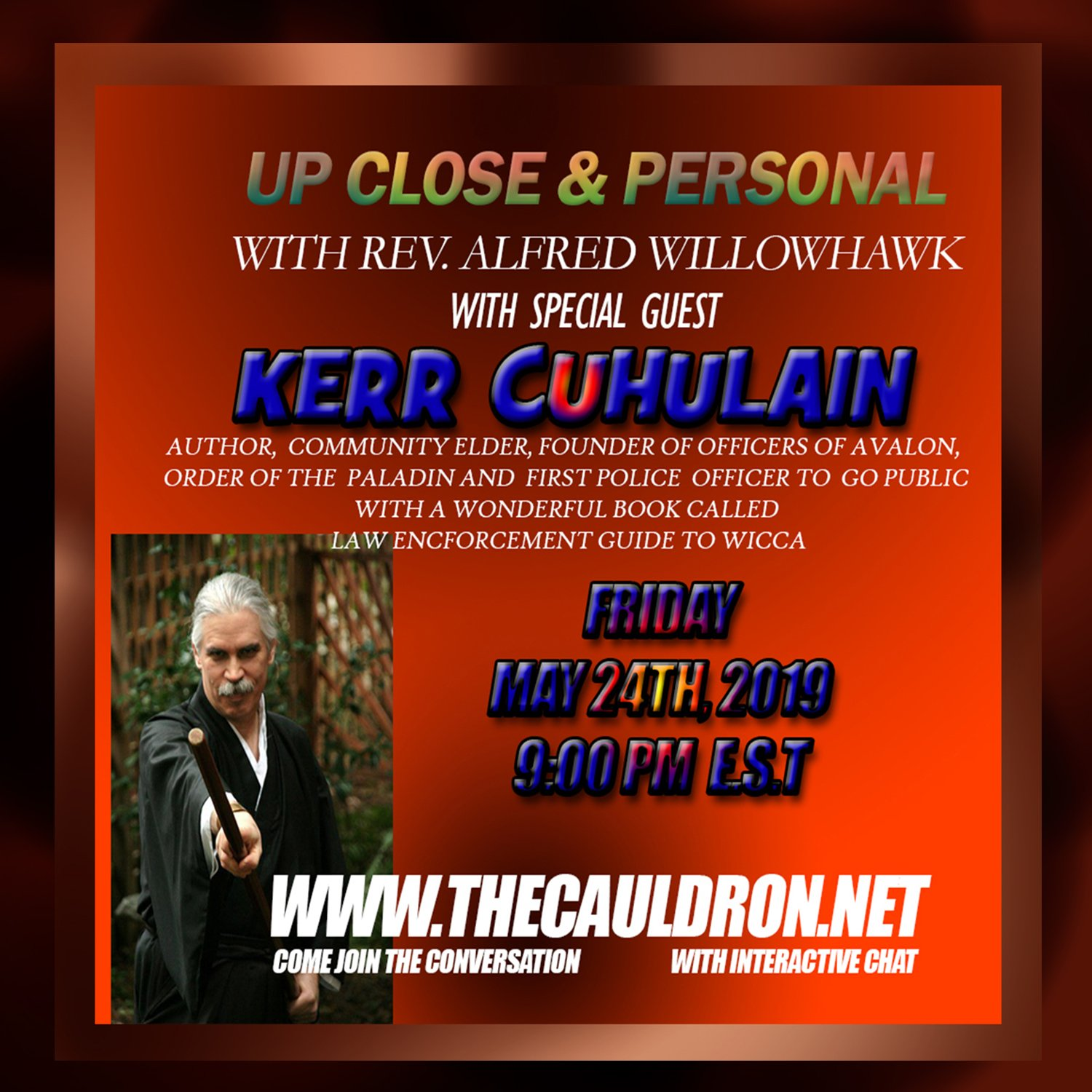 Up Close & Personal with Hon. Kerr Cuhulain