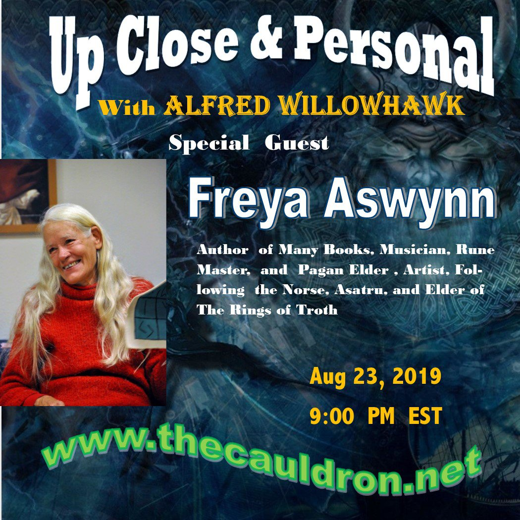 Up Close & Personal with HPS Lady Freya Aswynn