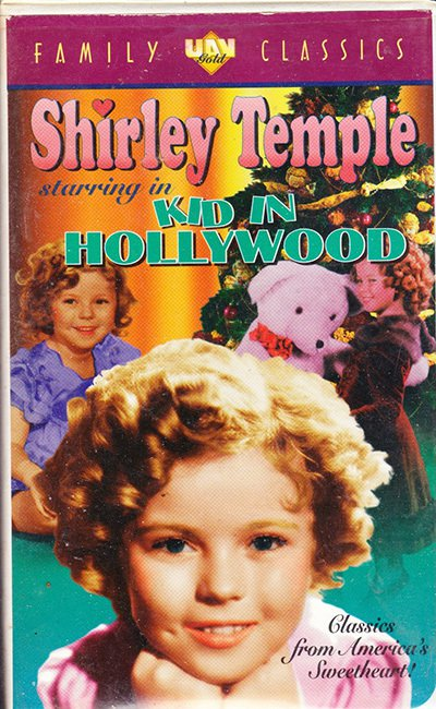 Shirley Temple In Kid In Hollywood (1933, 1990)