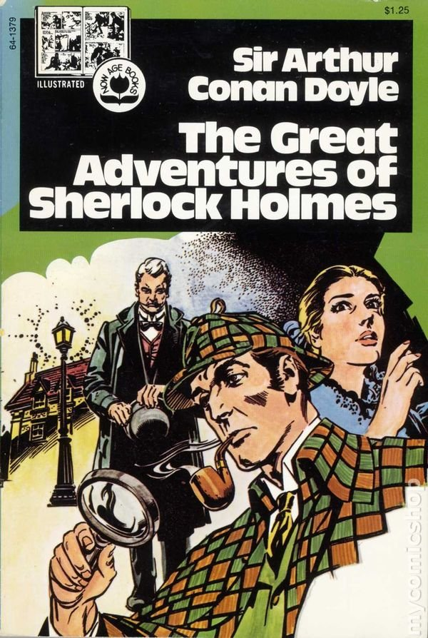 The Great Adventures of Sherlock Holmes by Sir Auther Conan Doyle