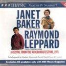 Janet Baker & Raymond Leppard: A Recital From Aldeburgh Festival, 1971