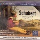 Schubert, Franz (BBC Scottish Orchestra). Schubert, Sympony No. 9 in C