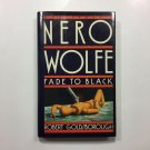 Nero Wolfe: Fade to Black by Robert Goldsborough