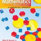 Mathematics for Elementary Teachers by Albert B Bennett