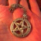 Protective Silver Pentagram