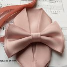 Dusty Rose Cameo Antique Rose men's bow tie and pocket square