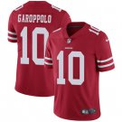 49ers #10 Jimmy Garoppolo Red Men's Stitched Limited Jersey