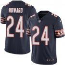 Bears #24 Jordan Howard Navy Blue Men's Stitched Limited Jersey