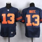 Bears #10 Mitchell Trubisky White Men's Stitched Limited Jersey