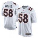 Broncos #58 Von Miller White Men's Stitched Game Event Jersey