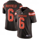 Browns #6 Baker Mayfield Brown Men's Stitched Limited Jersey