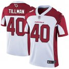 Cardinals #40 Pat Tillman White Men's Stitched Limited Jersey