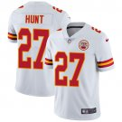 Chiefs #27 Kareem Hunt White Men's Stitched Limited Jersey