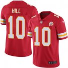 Chiefs #10 Tyreek Hill Red Men's Stitched Limited Jersey