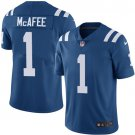 Colts #1 Pat McAfee Royal Blue Men's Stitched Limited Jersey
