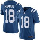 Colts #18 Peyton Manning Royal Blue Men's Stitched Limited Jersey