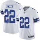 Cowboys #22 Emmitt Smith White Men's Stitched Limited Jersey