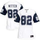 Jason Witten Cowboys Men's  Color Rush Game Stitched Jersey - White
