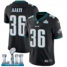 Eagles #36 Jay Ajayi Black SuperBowl Men's Limited Jersey